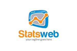 Stats Web / Rate/ Chart Logo