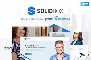 SolidBox | Modern WordPress Theme