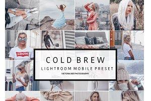 Mobile Lightroom Preset COLD BREW