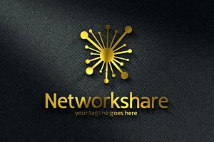 Network Share/ Digital/ Hosting Logo