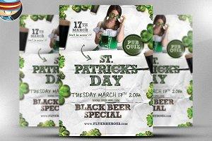 Saint Patrick's Day PSD Flyer 3