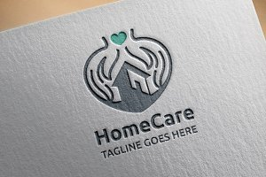 Home Care Logo Template