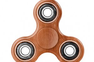 Wood Fidget spinner