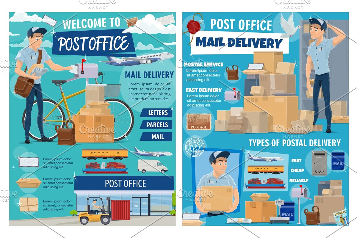 Mail And Parcels Post Office