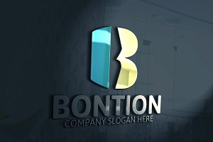 Bontion / B Letter Logo