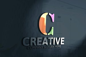 Creative C Letter