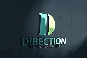 Direction D Letter