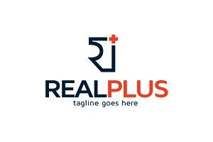 Letter R & Plus Logo