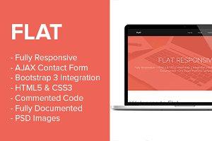 Flat: Premium Responsive Portfolio