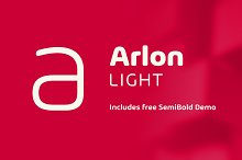 Arlon Light by  in Sans Serif Fonts
