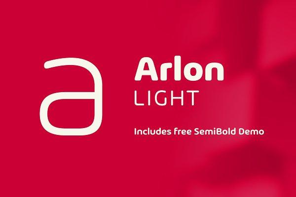Sans Serif Fonts: Marc Lohner - Arlon Light