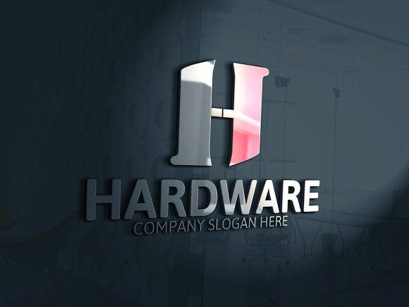 H Letter Logo Template