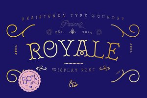 Royale - 50% off