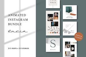ANIMATED Instagram Bundle – Lucia