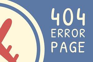 AirMail - Error 404 HTML Template