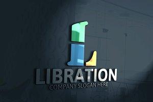 Libration / L Letter Logo