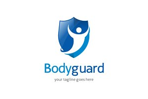 Body Guard Logo Template