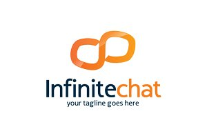 Infinite Chat Logo Template