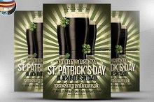Saint Patrick's Day Promo Flyer
