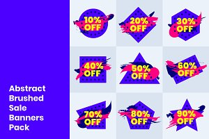 Dotted Grunge Discount/Sale Banner