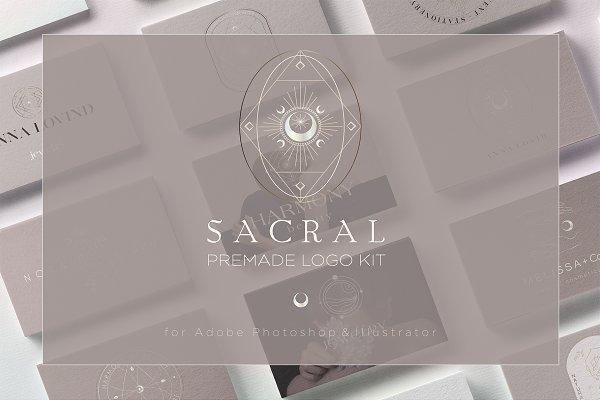 Logo Templates: Natalya Krupnova - Sacral- Brand Kit