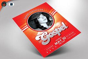 The Gospel Church Concert Flyer
