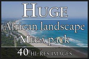 Africa landscape - 40x MEGA Pack #1
