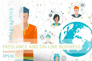 Infographics: On-line Business