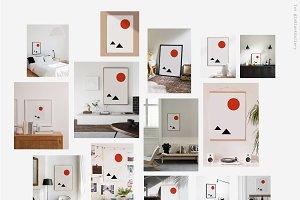 "Printable Art Prints ""Sunrise"""
