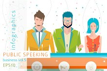 Infographics: Public Speaking