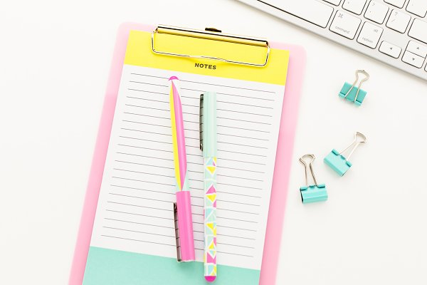 Stock Photo - Bright Desktop #03