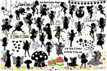 Little Fairies & Stardust AI EPS PNG