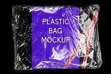 PLAST - Realistic Plastic Bag Mockup
