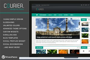 Courier – Wordpress Theme