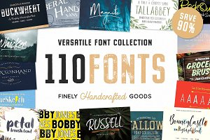 The Ultimate Handcrafted Fonts Pack