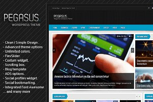 Pegasus - WordPress Theme
