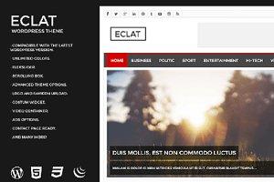 ECLAT - Magazine Wordpress Theme