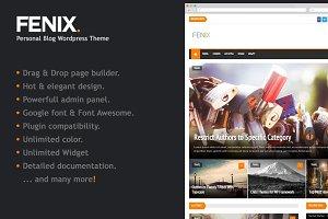 Fenix - Personal Blog Wordpress Them