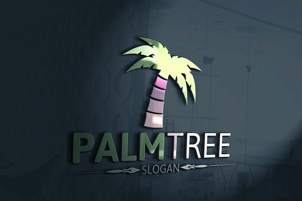 Palm Tree Logo Creative Illustrator Templates Creative Market Download palm tree images and photos. palm tree logo
