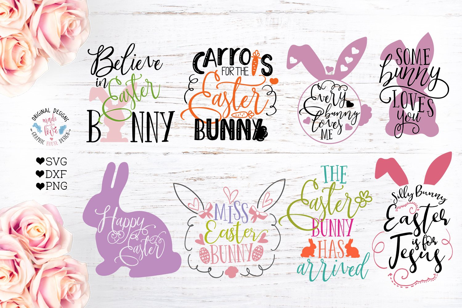 Easter Cut Files Bundle