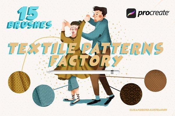 Procreate Brushes: Eliza Moreno Illustration - Textile Patterns Factory Procreate