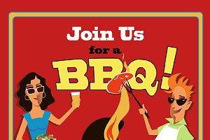 Barbecue Invitations
