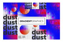 GRADIENT Poster Series by  in Flyers