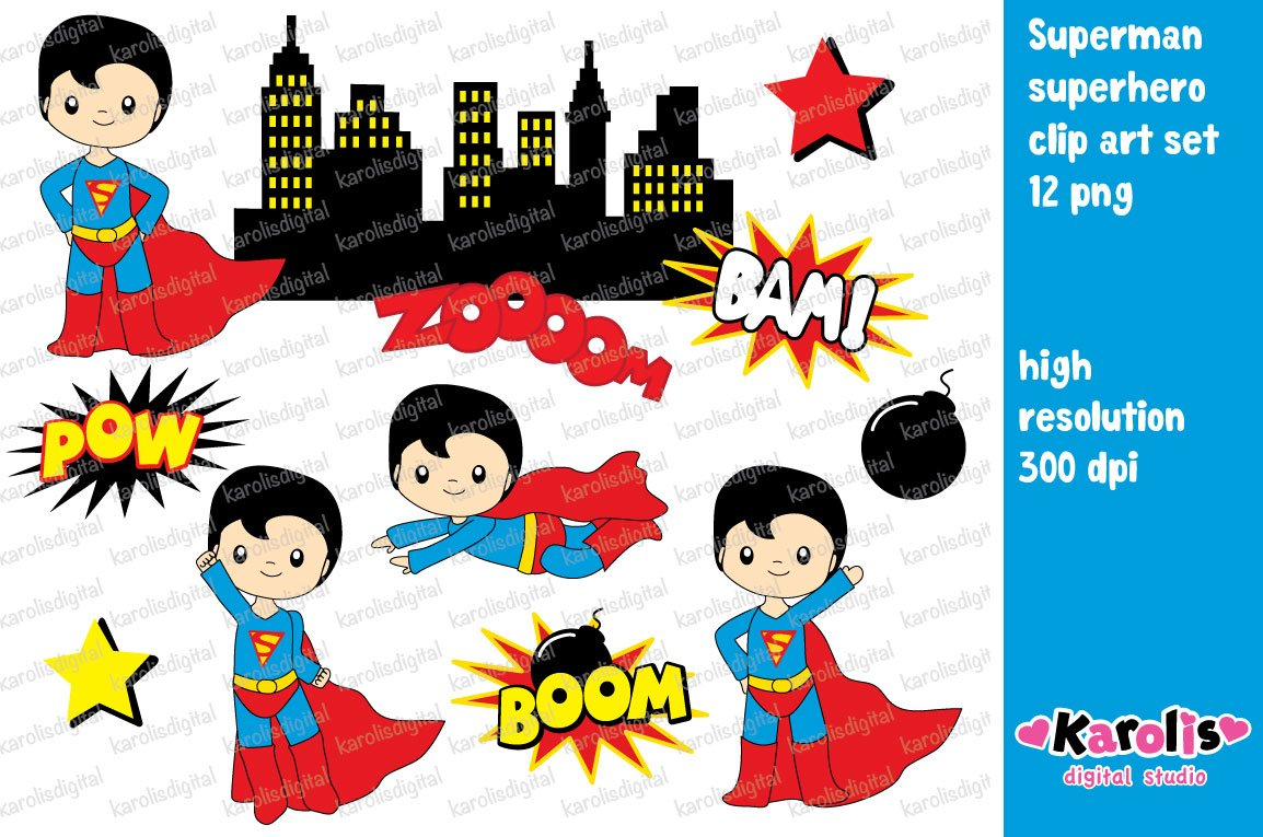 Kid Superhero In The  S