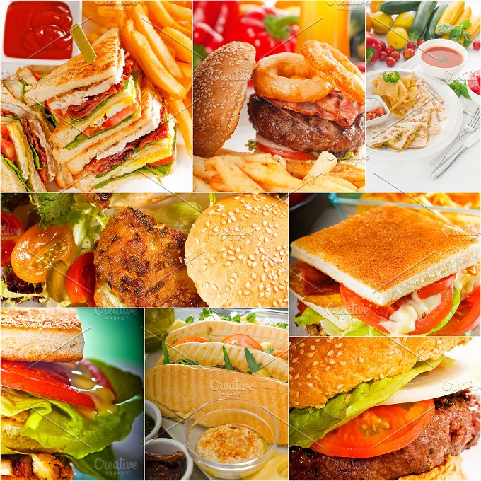 burgers and sandwiches collage 7.jpg - Food & Drink