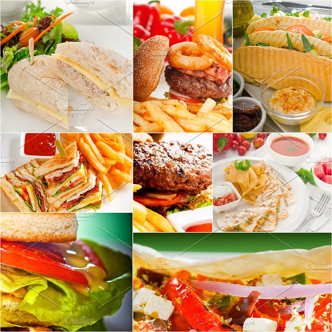 burgers and sandwiches collage 8.jpg - Food & Drink