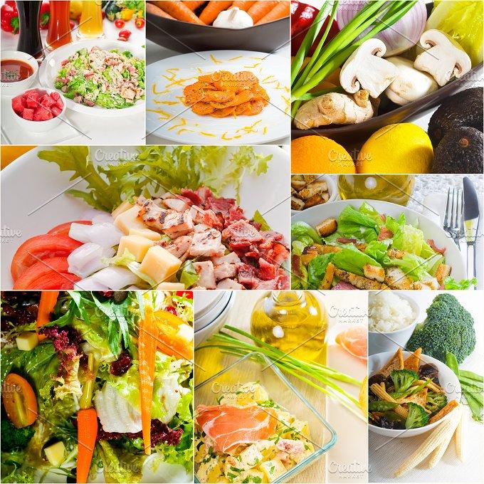 mixed salad collage 5.jpg - Food & Drink