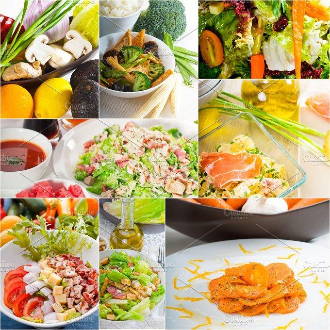 mixed salad collage 6.jpg - Food & Drink