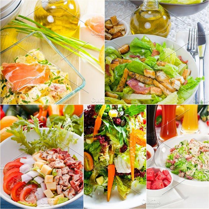mixed salad collage 20.jpg - Food & Drink