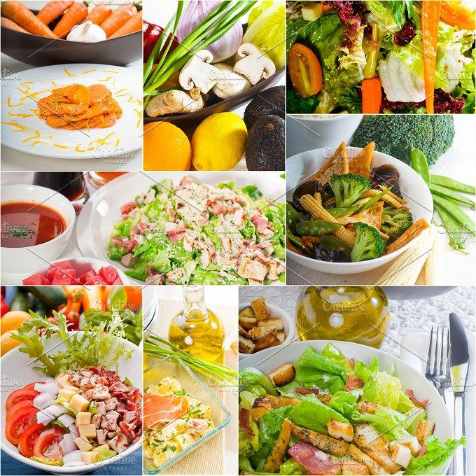 mixed salad collage 10.jpg - Food & Drink